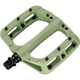 HT Nano PA03A Flat Pedals, Oliva/verde